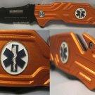 Emergency Medical Service EMS Seat Belt Glass Break Rescue Knife