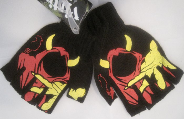 ICP Insane Clown Posse Rap Concert Gloves Wraith