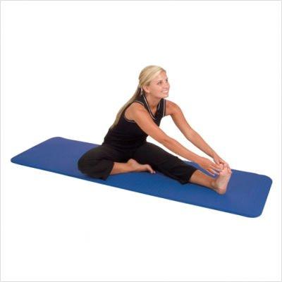 Aeromat Fitness Exercise Stretching Yoga Mat Elite Blue