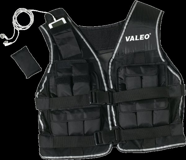 Valeo Weighted Exercise Fitness Workout Weight Vest 20 lbs