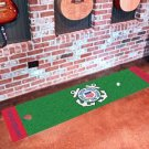 USCG Coast Guard Military Seal Gold Putting Green Rug