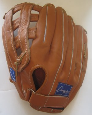 Baseball Softball Player Right Hand Leather Glove Mitt 14.5""