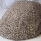 Guinness Irish Shamrock Beer Tweed Cabby Ivy Hat Cap Large
