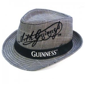 52686994481 Guinness Irish Beer Dress Suit Fedora Pub Cap Hat L XL