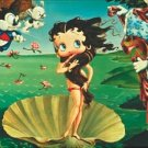 Betty Boop Love Godess Venus Beach Bath Swim Pool Towel