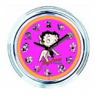 Sexy Betty Boop Vintage Style Neon Wall Clock