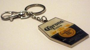 Corona Extra Beer Cerveza Keychain Keyring FOB
