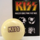 KISS Army Concert Billiard Pool Stick White Cue Ball FREE U.S. SHIPPING