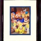 Snow White's Seven Dwarfs #A114