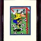 Goofy Soccer Player #A141