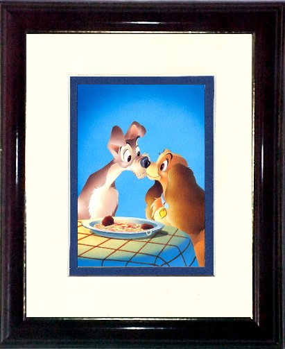 Lady and The Tramp the Kiss #A181