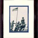 IWO JIMA Flag Raising #A513