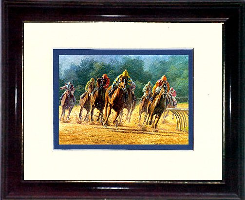 TURING FOR HOME - HORSE RACING #A623