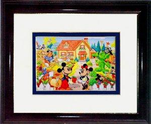 Mickey and Minnie's Garden #A668