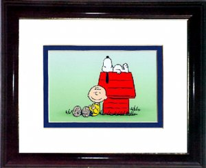 Snoopy and Charlie Brown A692