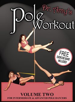 DVD Dr. Amy's Pole Workout Volume II