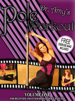DVD Dr. Amy's Pole Workout Volume I