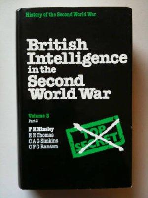 British Intelligence Second World War V3 P2 FH Hinsley