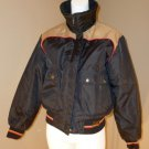 Vintage Maxim Wear Yamaha Motorcycle Jacket Ladies L Reg