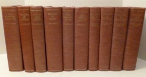 Lot Ten Volume Set Will & Ariel Durant Story of Civilization I-X Hardcover Book