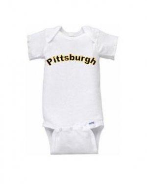 Pittsburgh Short Sleeve Onesie