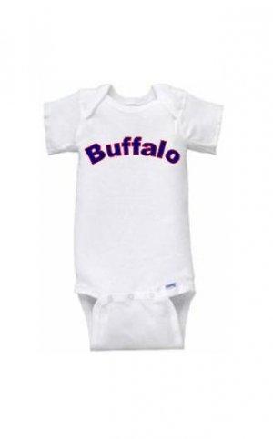Buffalo Short Sleeve Onesie