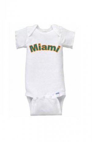 Miami Short Sleeve Onesie