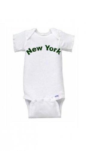 New York Short Sleeve Onesie