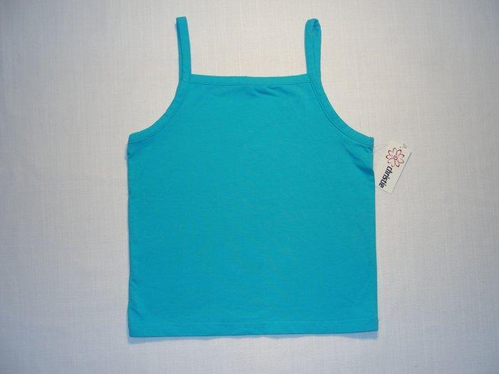 CHRISTIE BROOKS Girl's Sz 14 L Turquoise Tank Top, NEW