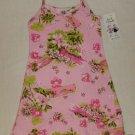 ANITA G Girls Size 4 Sundress, Pink Tropical , NEW