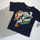 DISNEY TOY STORY 'Action Heroes' Boy's 3T Shorts Outfit