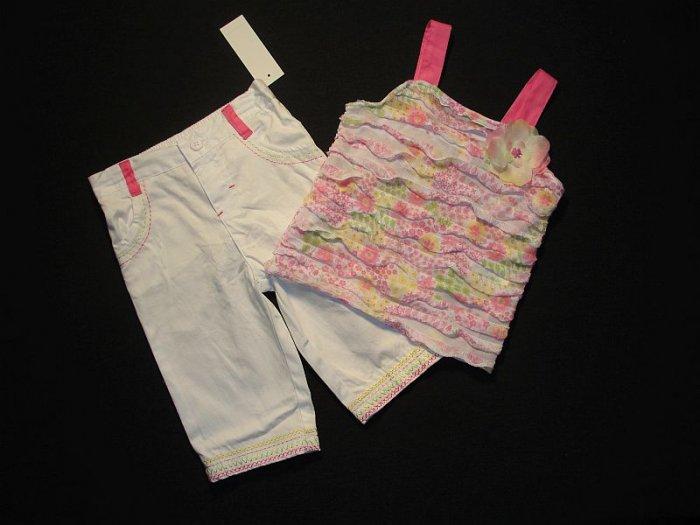BABY HEADQUARTERS Girls 24 M Halter top, Leggings Set