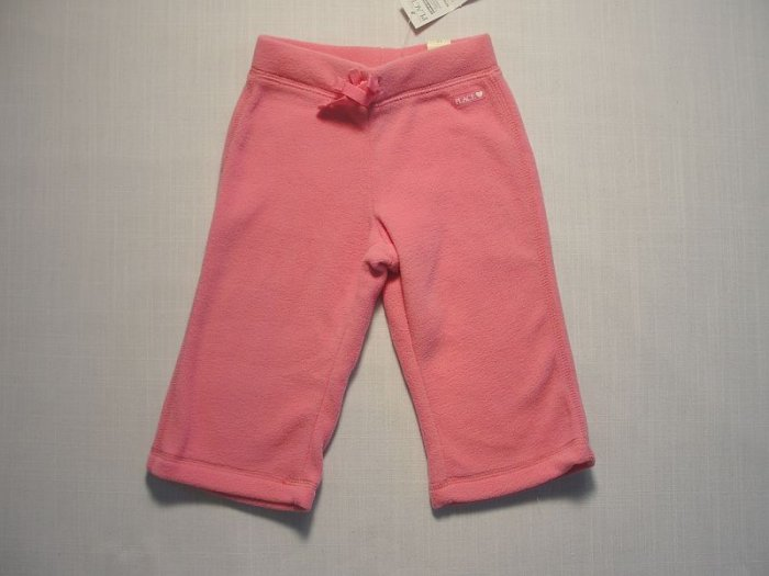 The Children's Place Girl's 12 M Pink Fleece Pants NEW