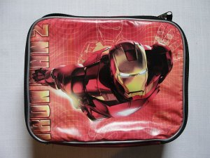 MARVEL IRONMAN 2 Insulated Lunch Bag, NEW