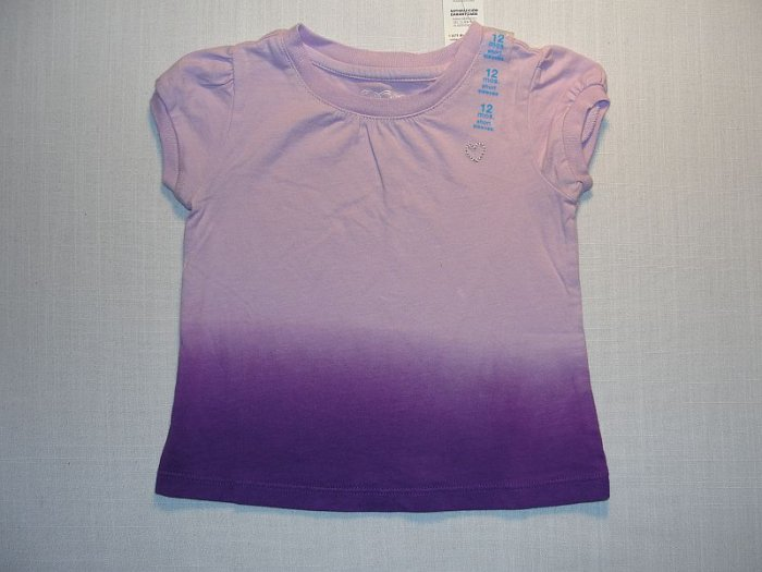 CHILDREN'S PLACE Girls 24 M Purple Summer Top, NEW
