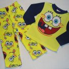 SPONGEBOB Boy's Size 4 Fleece Pajama Pants Set, NEW
