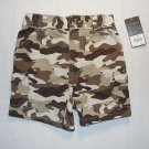 SONOMA Boy's 18 Months Brown Camoflauge Shorts, NEW