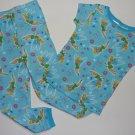 DISNEY Girl's 3T TINKERBELL Print Pajama Pants Set NEW