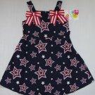 JESSICA ANN Girl's Size 4 Stars Patriotic Sundress NEW