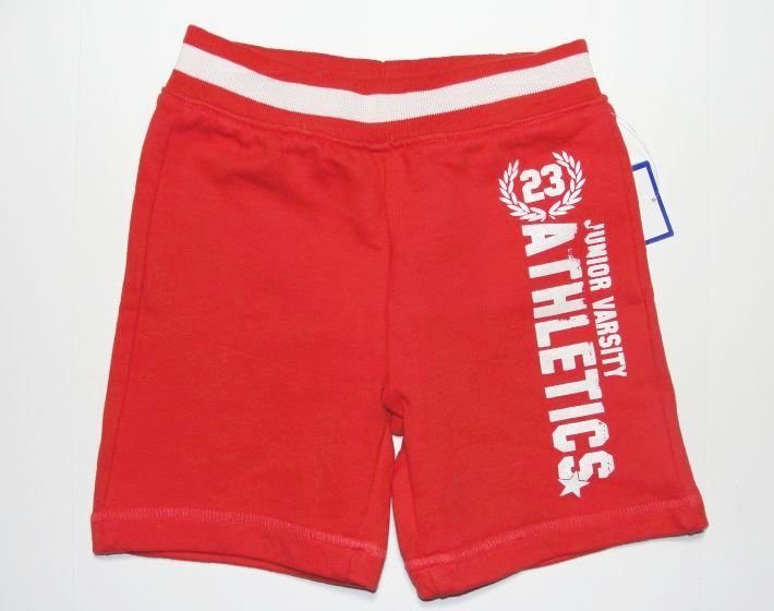 GUM BALLS GUMBALLS Boy's 18 Months Coral Athletic Long Shorts. NEW