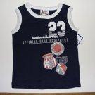 GUMBALLS Boy's 18 Months Navy Blue Sports Shirt, NEW