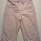 SONOMA Girl's Sz 6 Striped Lightweight Cropped Pants