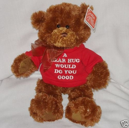 GUND CORIN Bear w/ BEAR HUG T-Shirt, NEW