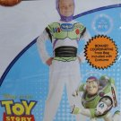 DISNEY Boy's Size 7-8 TOY STORY BUZZ LIGHTYEAR COSTUME with TREAT BAG , NEW