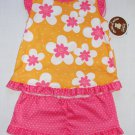 CHILD OF MINE CARTER'S Girl's Size 24 Months Floral Pajama Shorts Set, NEW