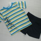 DISNEY Boy's 6-9 Months Winnie the Pooh TIGGER Shorts Outfit, NEW