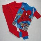SPIDERMAN Boy's Size 8 Pajama Pants Set, NEW