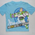 DISNEY Boy's 2T TOY STORY BUZZ LIGHTYEAR Blue T-Shirt, New Without Tags