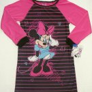 DISNEY MINNIE MOUSE Girl's Size 6/6X Nightgown, NEW