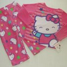HELLO KITTY Girl's Size 4 Fleece Pajama Pants Set, NEW
